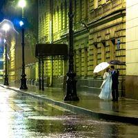 Питер,дождь,любовь. Артур и Лена.