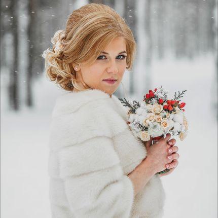Аренда свадебных норковых шубок и полушубок