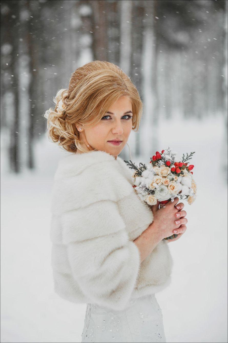 Шубка на свадьбу фото