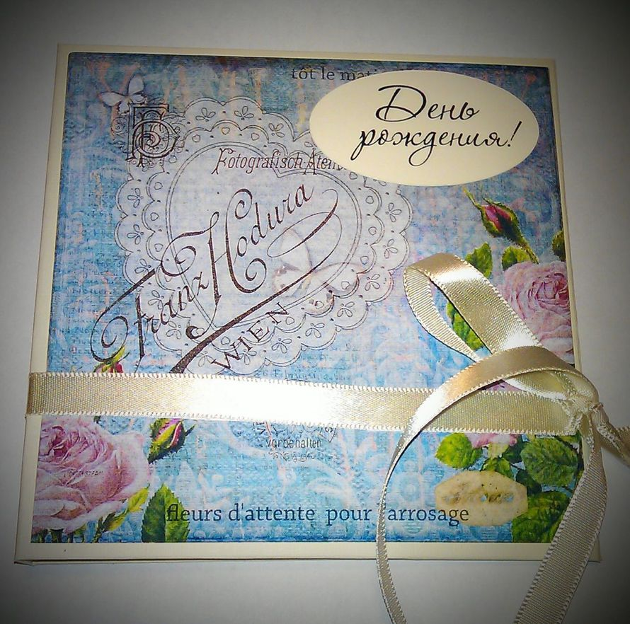 Фото 2712297 в коллекции Коробочки(боксы) для дисков - Scrapuschka - свадебные аксессуары и открытки