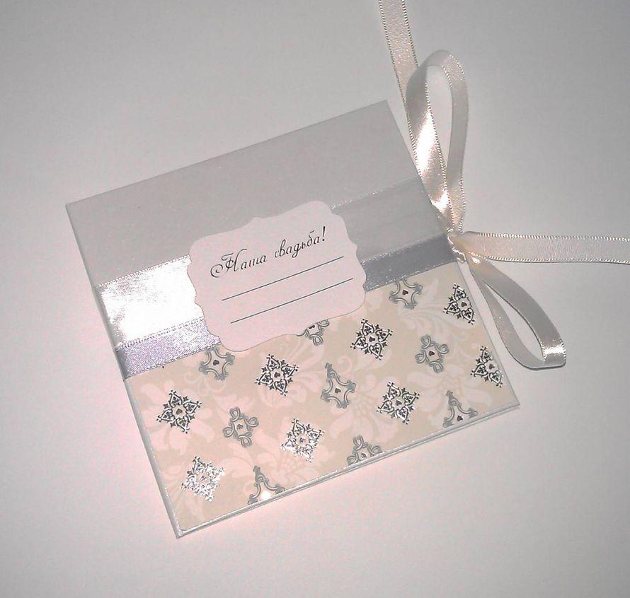 Фото 2712343 в коллекции Коробочки(боксы) для дисков - Scrapuschka - свадебные аксессуары и открытки