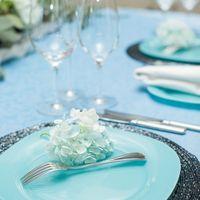 Свадьба в нежно-голубых тонах.