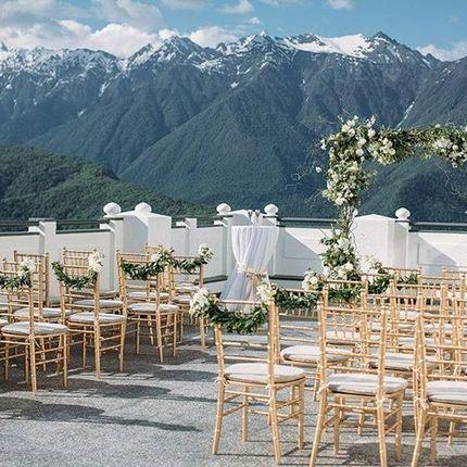 Организация свадьбы на море и в горах под ключ