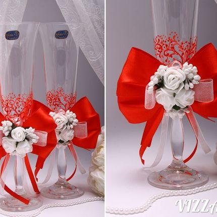 Свадебные бокалы, цена за 1 шт