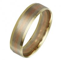Кольцо обручальное Золото 585