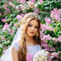 Невеста Ирина; Фото: Алексей Новопашин; Макияж: Наталья Казанцева