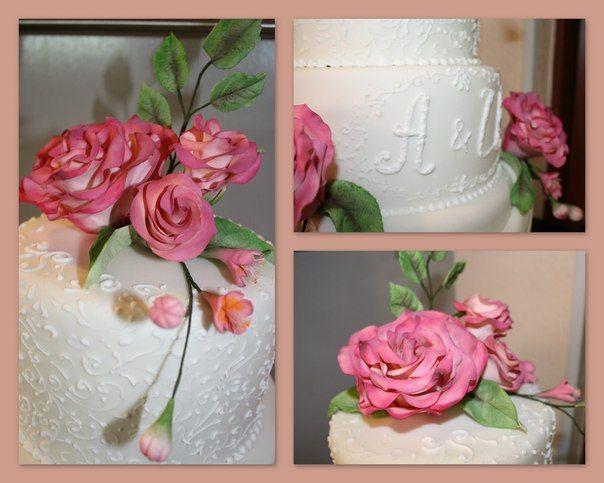 """Свадебный торт - фото 2575753 Кулинарная мастерская """"Мисс Бисквит"""""""