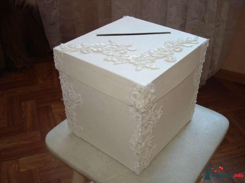 Казна из коробки на свадьбу