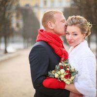 Осенняя свадьба. Свадебная фотосессия в Архангельском.