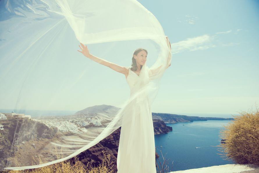 Свадьба на Санторини. Образ невесты - фото 4439355 Фотограф Маша Карт на Ибице и Санторини