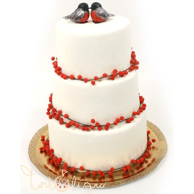 Рецепт торта снегири с фото