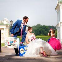 свадьба прогулка ребенок