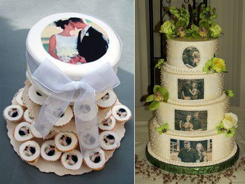 Тортик с фото печатью