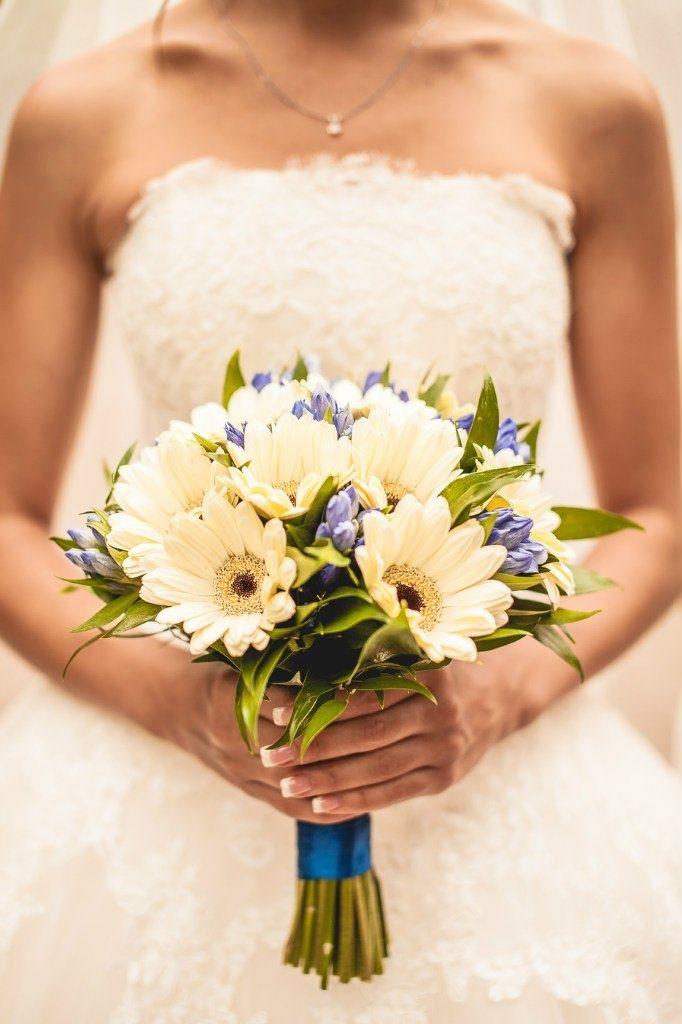 Свадебный букет из гербер
