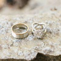 Разные кольца для жениха и невесты
