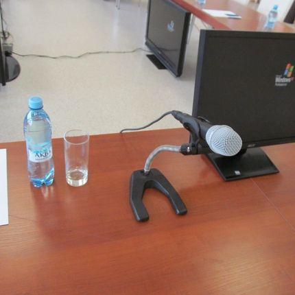 Аренда и прокат Настольная микрофонная стойка