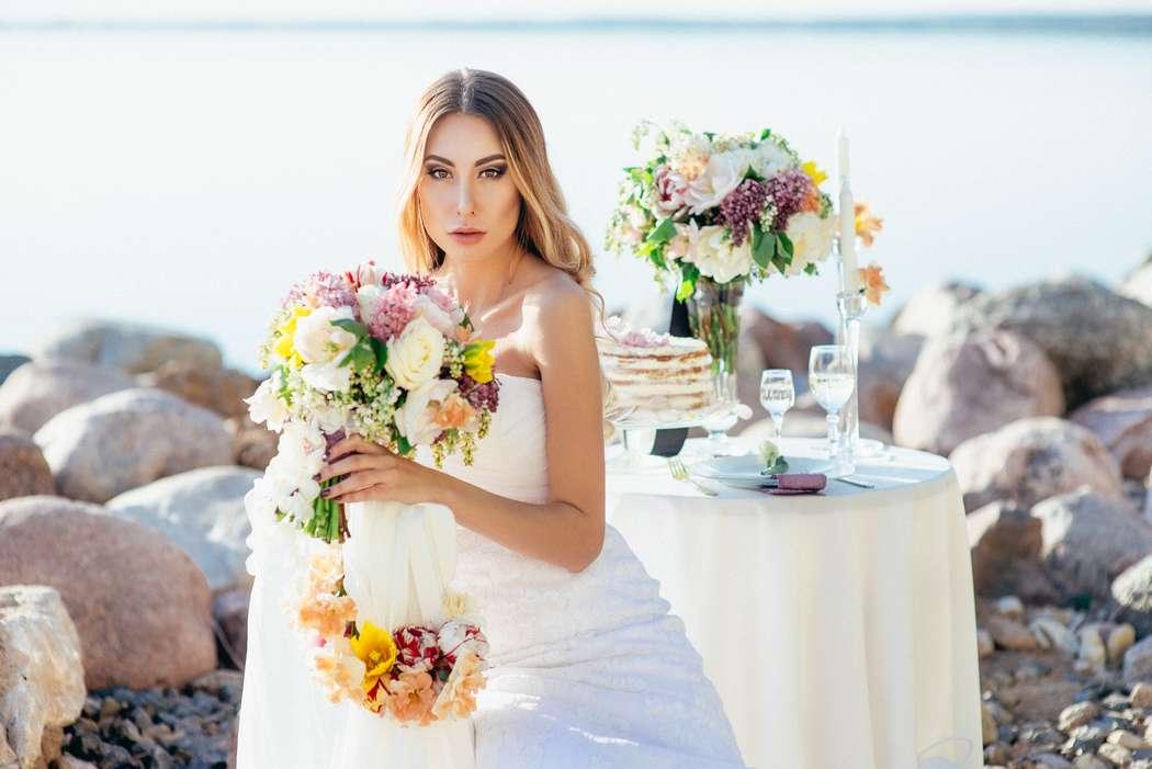 море, флористика, невеста - фото 5403657 Фотограф Александр Карпович