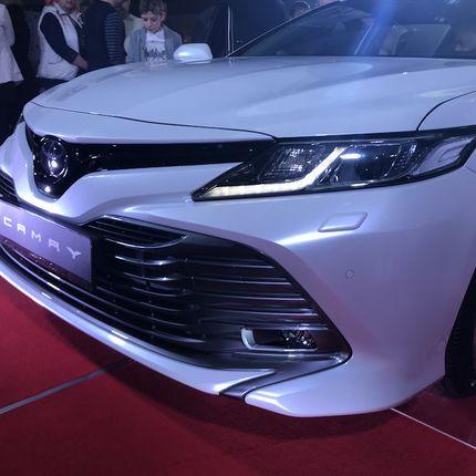 Аренда Toyota kamry new 2018
