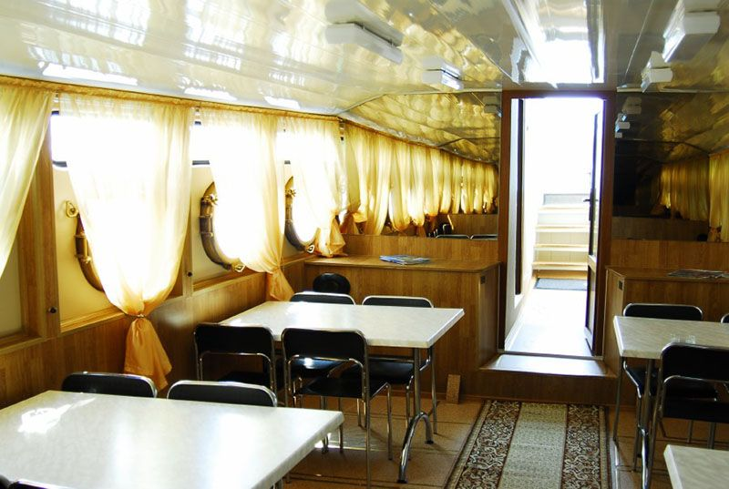 Теплоход Москвич вместимость 30-36 человек  - фото 2660657 Saratovflot - свадьба на теплоходе