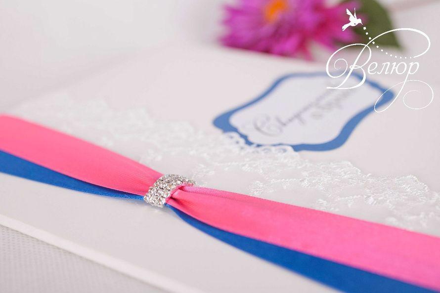 """Папка для свидетельства о бракосочетании (формат А4) - фото 5689944 """"Велюр"""" - приглашения, свадебные аксессуары"""
