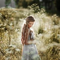 Невеста в стиле Рустик. Фотограф Анастасия Зайцева