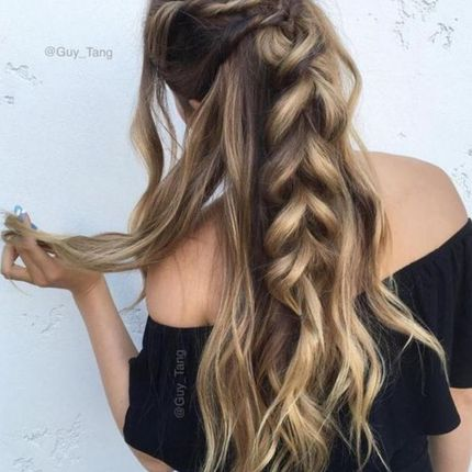 Волосы на заколках в аренду