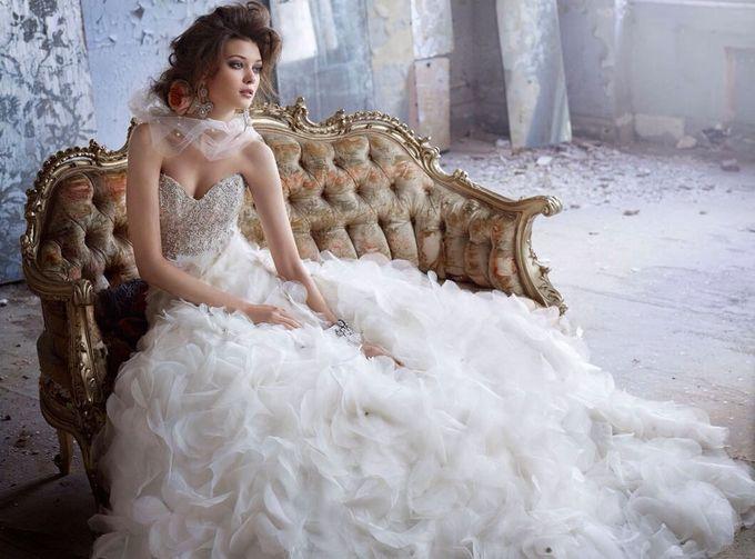 фото невеста раком