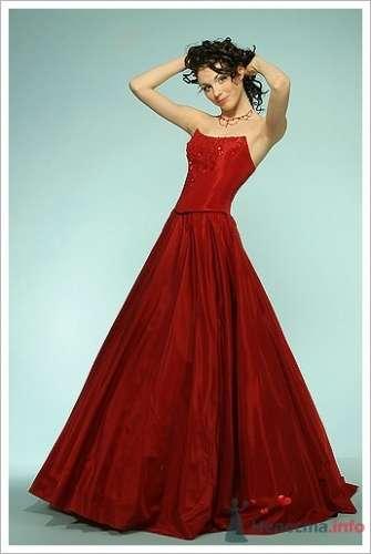 Фото 16287 в коллекции Красное свадебное платье - Невеста01