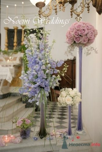 Фото 19022 в коллекции Flower design - Noemi Weddings - организация свадеб в Италии