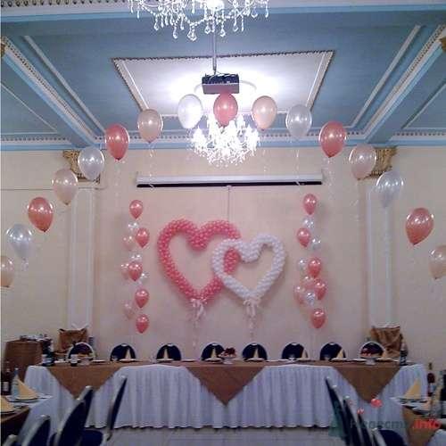 оформление свадьбы шарами - фото 16601 Бизнес Нюанс BN4 - оформление свадеб