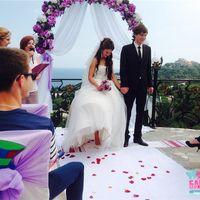 Выездная свадебная церемония Антона и Юлии 14.06.2014