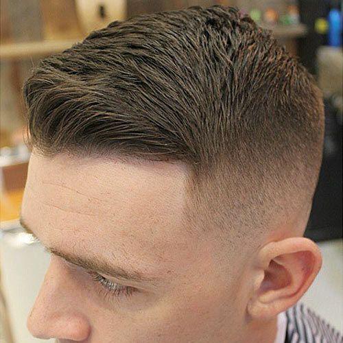 Причёски мужские короткие виски