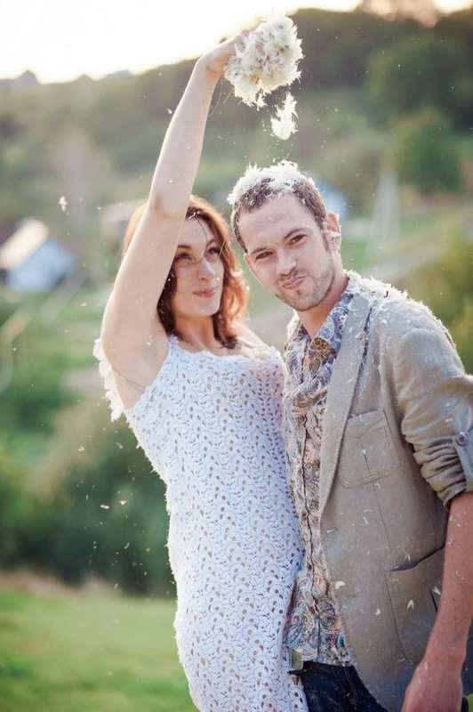 вязаное свадебное платье - фото 2736253 Мастерская Натальи Киселевой - вязание на заказ