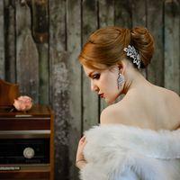 Свадебная фотосессия в интерьерной фотостудии. Город Майкоп, фотограф Марина Фадеева