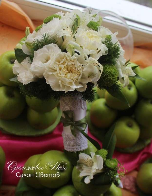 Гвоздика, лизиантус - фото 2929757 Студия флористики и декора Оранжевое Небо