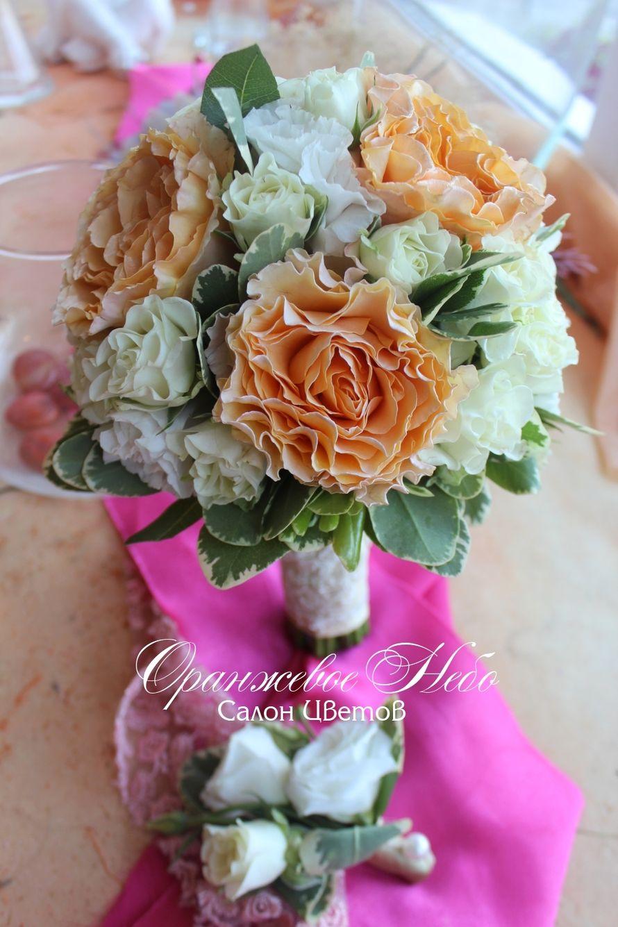 Пионовидные розы - фото 2929765 Студия флористики и декора Оранжевое Небо