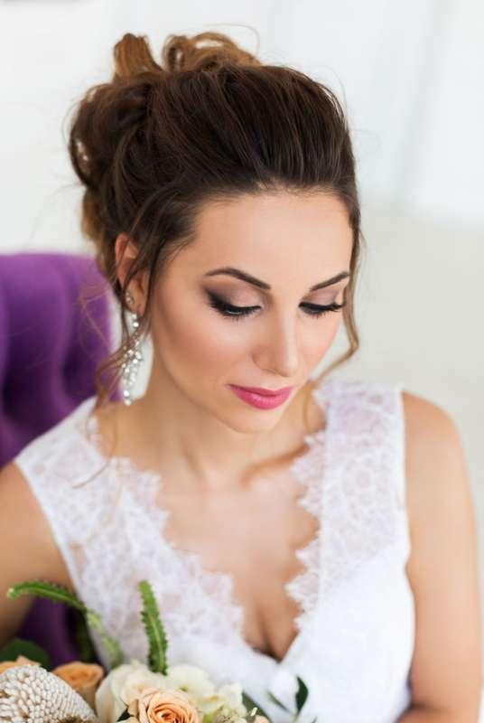 Свадебный макияж и прическа Катя Мороз - фото 17442812 Стилист Катя Мороз
