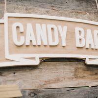 Candy bar в стиле Рустик