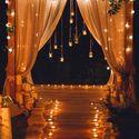 ночная церемонияв стиле Рустик