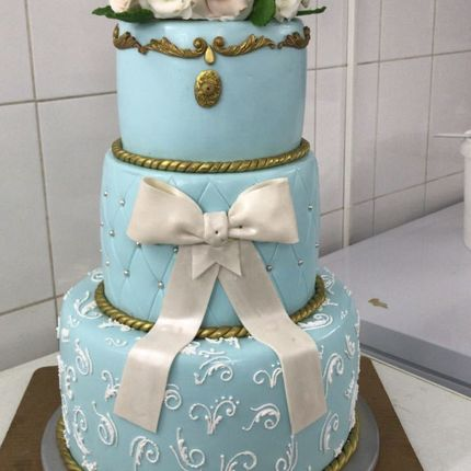 Голубой торт Барокко