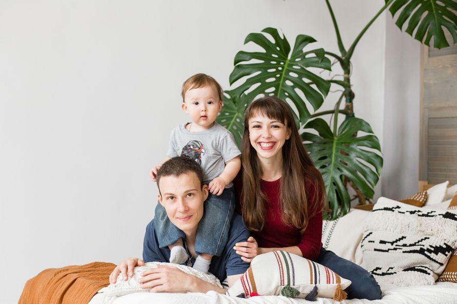 Семейная фотосъёмка в студии, 1 час