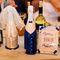 Наш первый опыт в оформлении свадебных бутылок