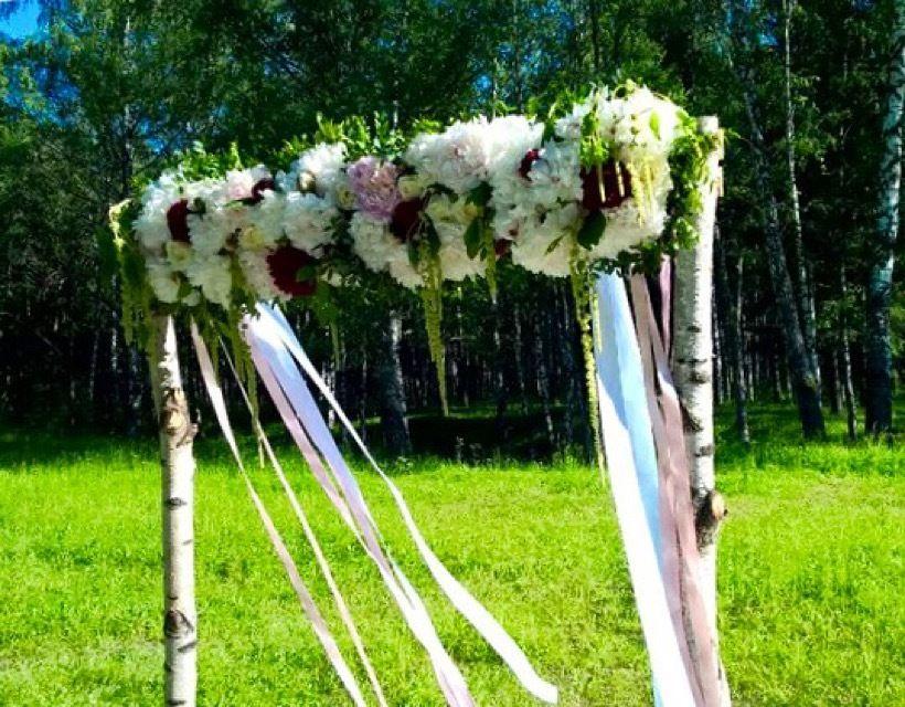 Выездная регистрация в лесу - фото 11036978 Студия декора Rizi