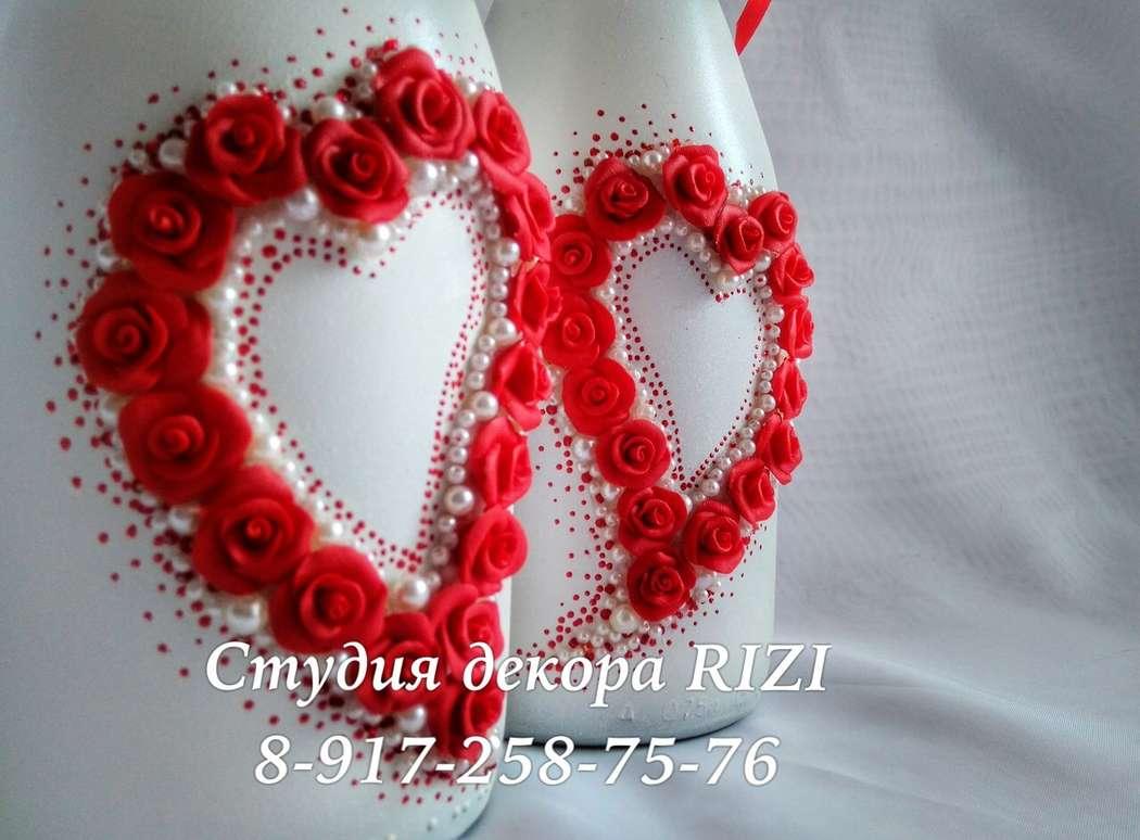 Свадебные аксессуары в красном цвете - фото 11465484 Студия декора Rizi