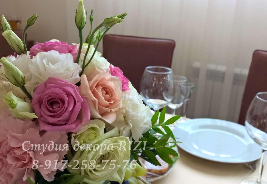 Композиция на столы гостей - фото 11819960 Студия декора Rizi