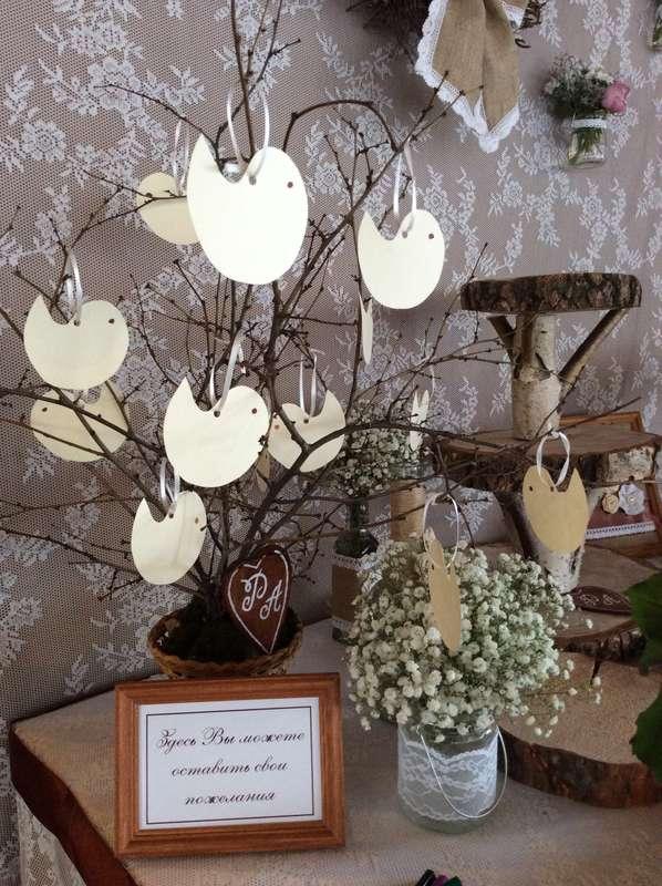 Свадьба в стиле рустик - фото 11926092 Студия декора Rizi