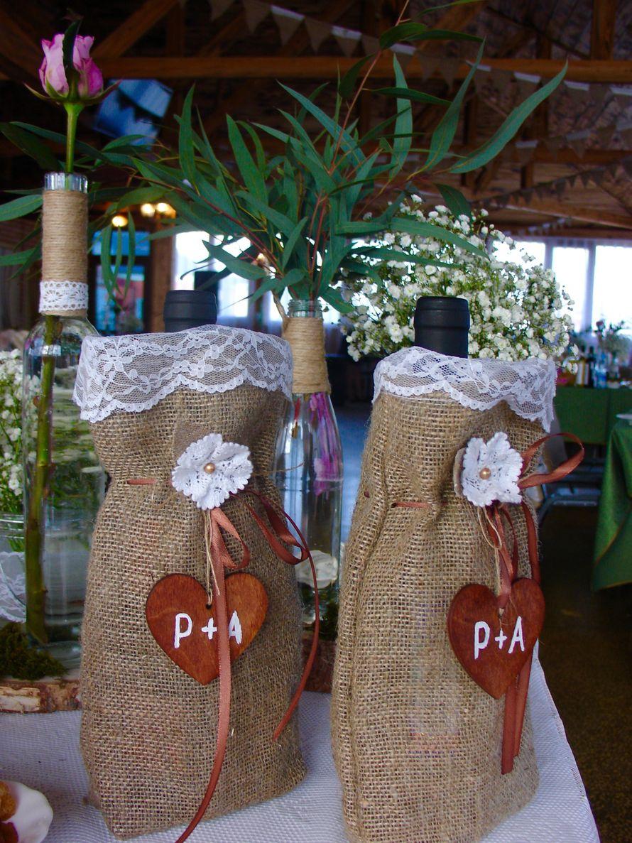 Свадьба в стиле рустик - фото 11926106 Студия декора Rizi