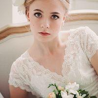 Предсвадебная съемка невесты в винтажном стиле
