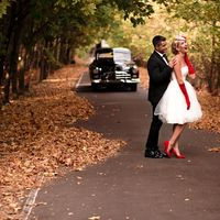 Стилизованная свадьба