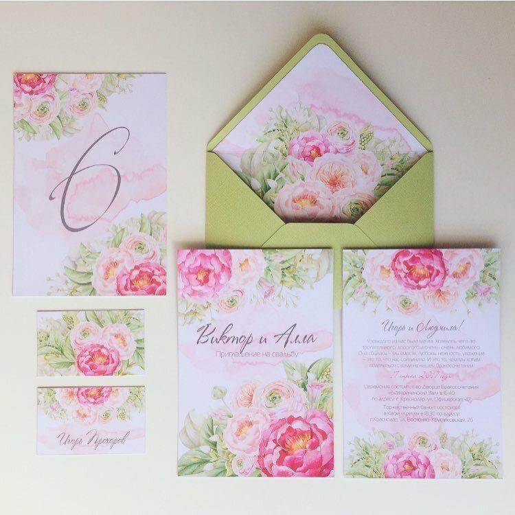 Готовый дизайн свадебной полиграфии - фото 14684588 Wedding and event invitations - мастерская полиграфии
